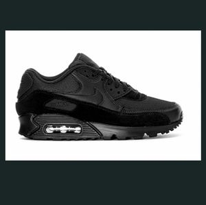 💯Nike Air Max 90 Triple Black